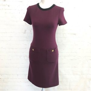 TORY BIRCH Burgundy Dress